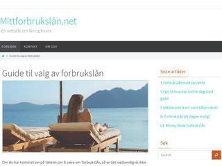 Mittforbrukslån.net